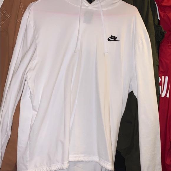 Nike Other - Nike White Long Sleeve Hoodie